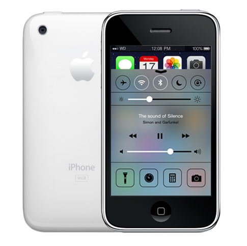 Control Center for iPhone 2G 3G iPod Touch 1G 2G Old Devices