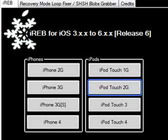 Downgrade iPhone iPod Touch with Redsn0w Solve Installation Guide Errors