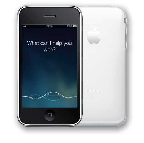 Controllo Vocale Siri for iPhone 2G 3G iPod Touch 1G 2G Old Devices